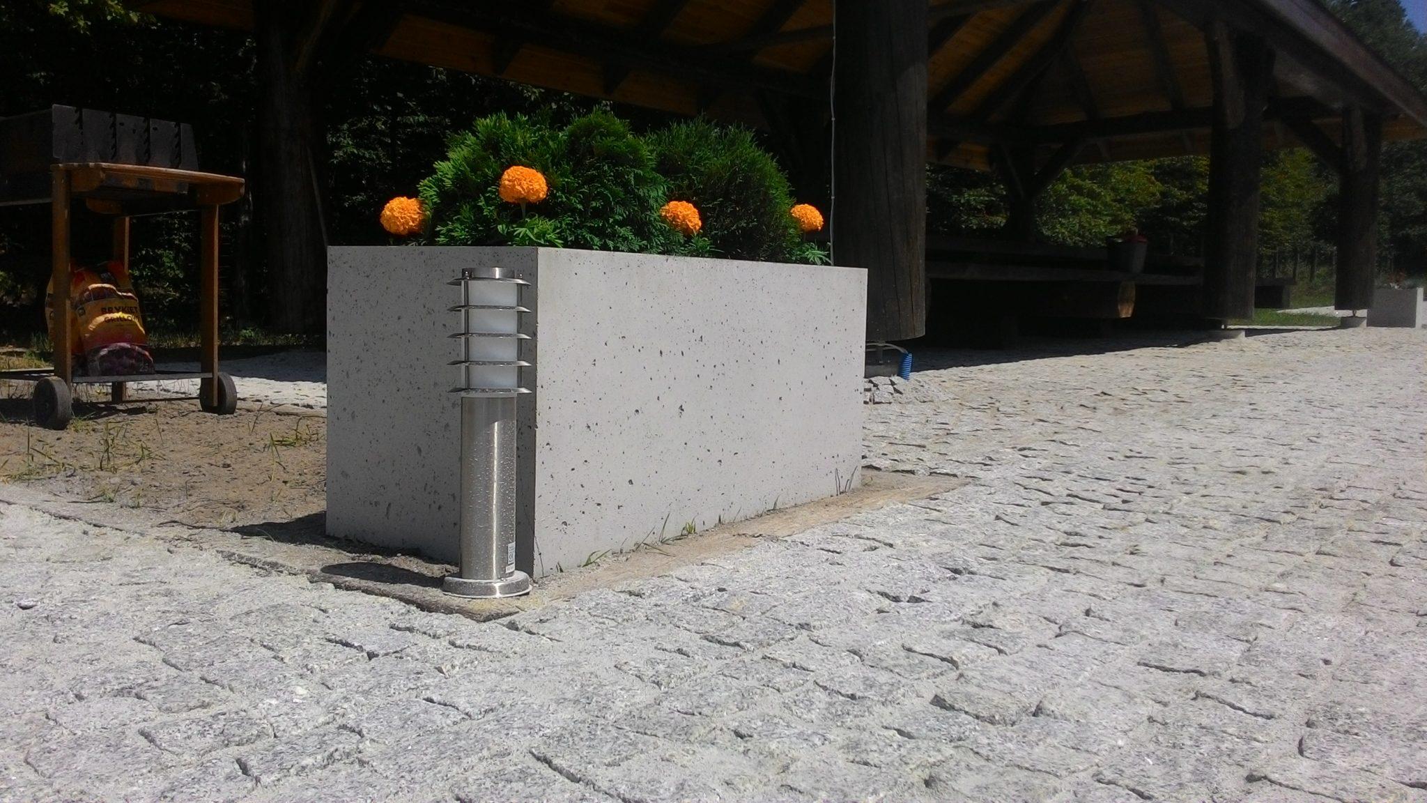 donica betonowa 1