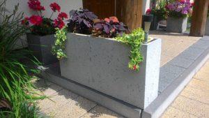 betonowe donice
