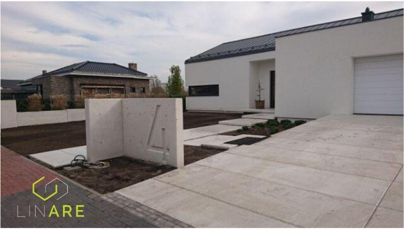 Ogrodzenia betonowe z betonu architektonicznego
