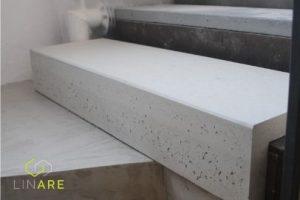 parapet betonowy narożny