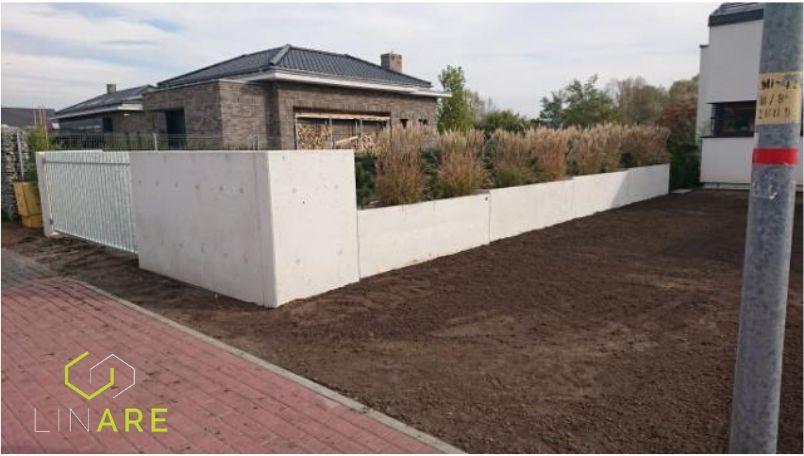 LINARE - Płot betonowy z betonu architektonicznego