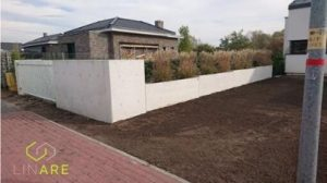 płot betonowy